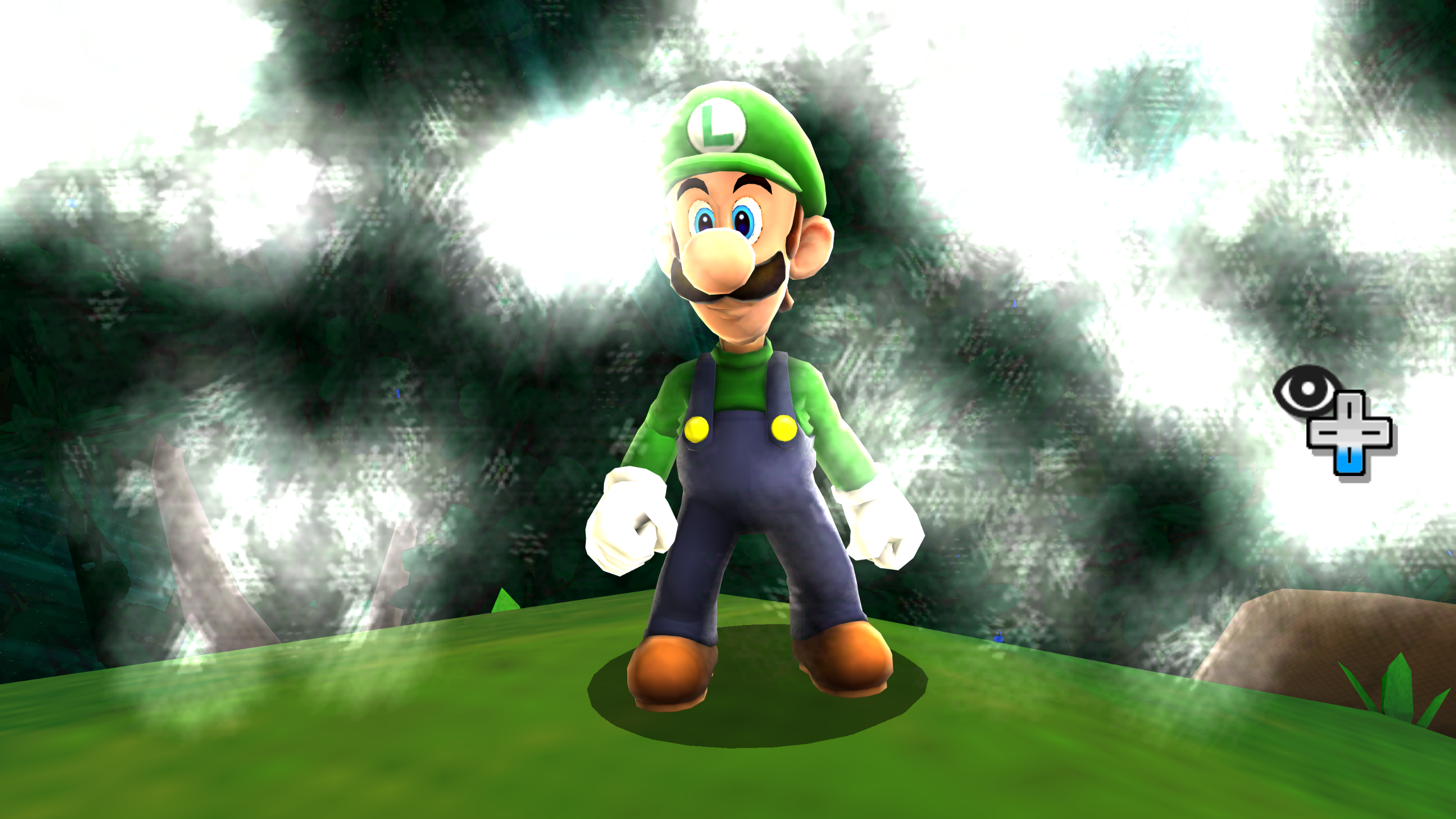 Luigi a Super Mario Galaxy 2-ben