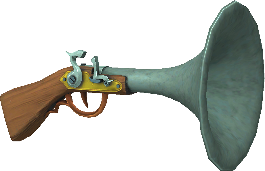 Pirate Flint Lock Blunderbuss Dragon Replica Pistol
