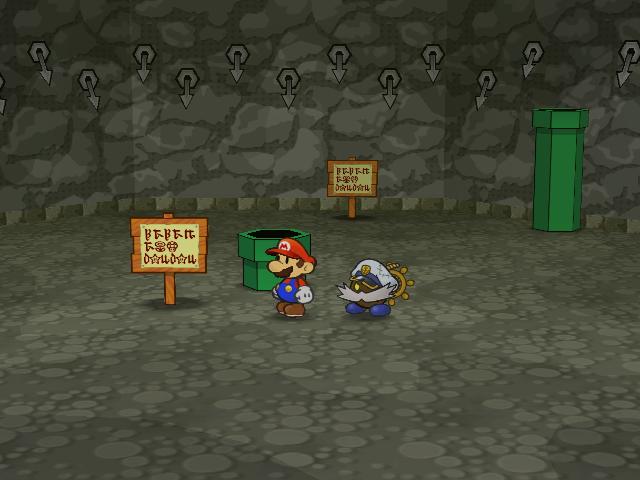 Pit Of 100 Trials Paper Mario The Thousand Year Door Super Mario Wiki The Mario Encyclopedia
