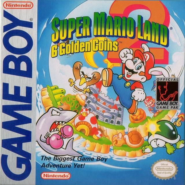 Super Mario Land 2: 6 Golden Coins - Super Mario Wiki, the