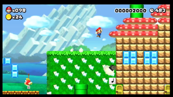 Ice Flower Super Mario Maker - Flowers Healthy