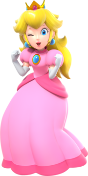 Alternate Profile Picture Of Peach For Super Mario Party