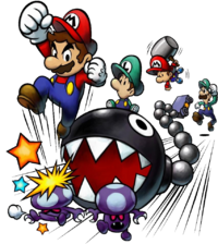 Chain Chomp Super Mario Wiki The Mario Encyclopedia