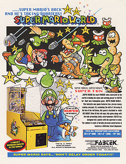 Super Mario World Arcade Super Mario Wiki The Mario
