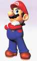 Mario Hands Crossed Artwork - Super Mario 64.png