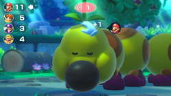 Super Mario Party - Don't Wake Wiggler! (Petting Wiggler).png