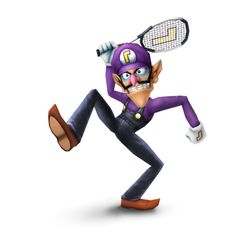 WALUIGI CAN TENNIS LIKE A PRO
