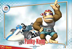 MKW Funky Kong Trading Card.png