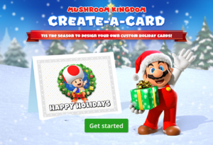 Mushroom Kingdom Create-A-Card holiday title screen.png