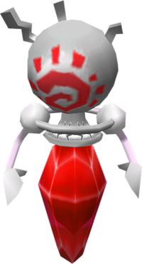 Wario World Red Gem Bodied Creature Model.png