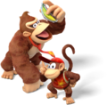 Donkey Kong and Diddy Kong - Donkey Kong Country Tropical Freeze.png