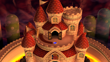 NSMBU Peach's Castle World Map.png