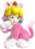Cat Princess Peach Artwork - Super Mario 3D World.png
