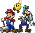 Mario Luigi Starlow Artwork - Mario and Luigi BiS.png