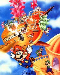 Airship Super Mario Wiki The Mario Encyclopedia