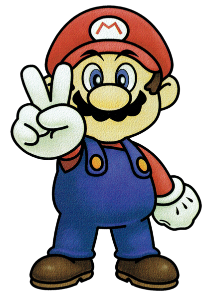 File:Mario SSB Artwork.png