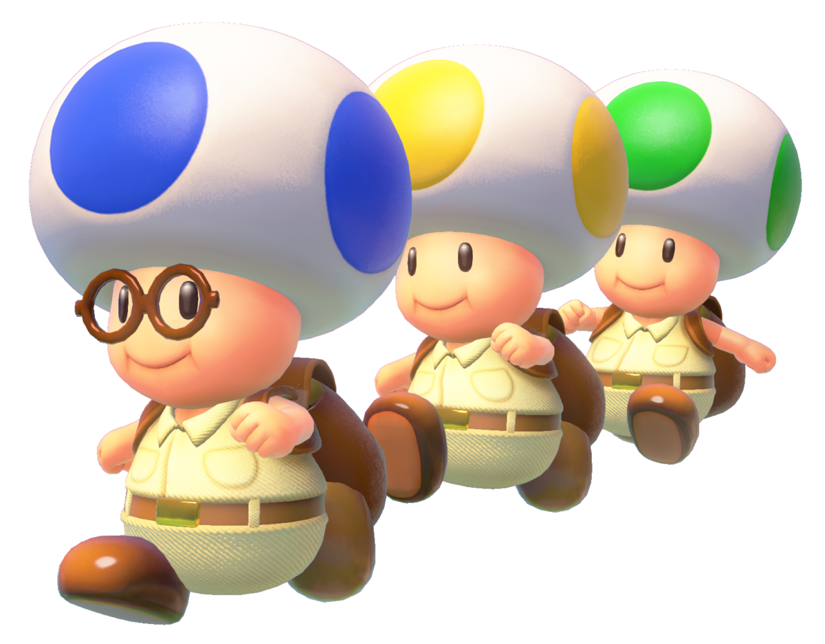 Toad Brigade Super Mario Wiki The Mario Encyclopedia