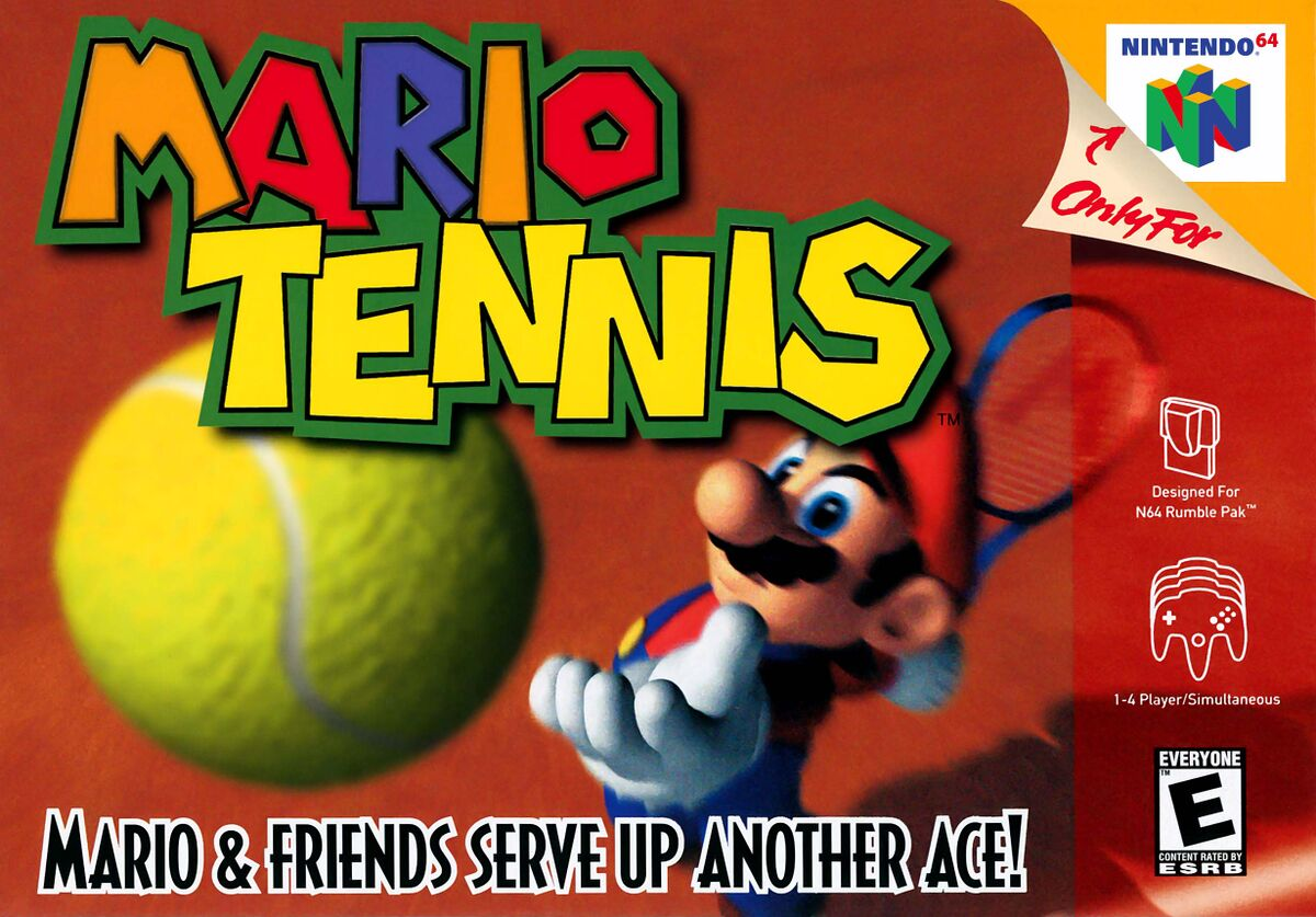 Mario Tennis (Nintendo 64) - Super Mario Wiki, the Mario