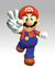 Mario Victory Pose Artwork - Super Mario 64.png