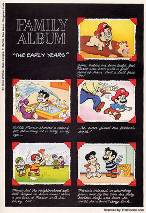 Family Album Quot The Early Years Quot Super Mario Wiki The
