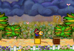 Flower fields super mario wiki the mario encyclopedia pmhiddenblock35g papermario mightylinksfo