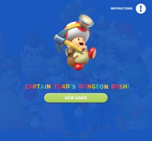 Captain Toad's Dungeon Dash! title screen.png