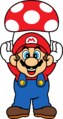 SMBDX - Mario with Mushroom.png