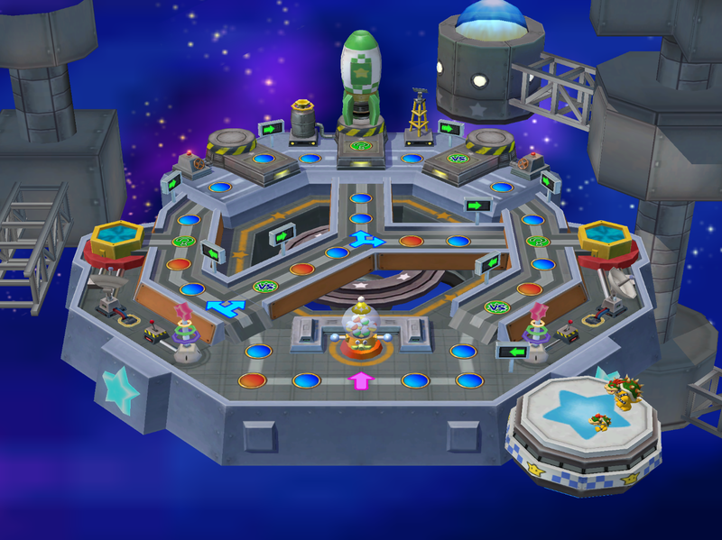 One of the story maps in Mario Party 5.