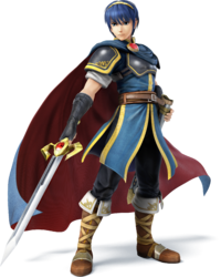 SSB4 - Marth Artwork.png