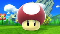Poison Mushroom, as seen in the Wii U and 3DS versions.
