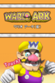 Wario Master of Disguise Beta Title Screen.png