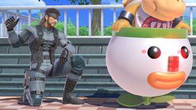 Solid Snake - Super Mario Wiki, the Mario encyclopedia