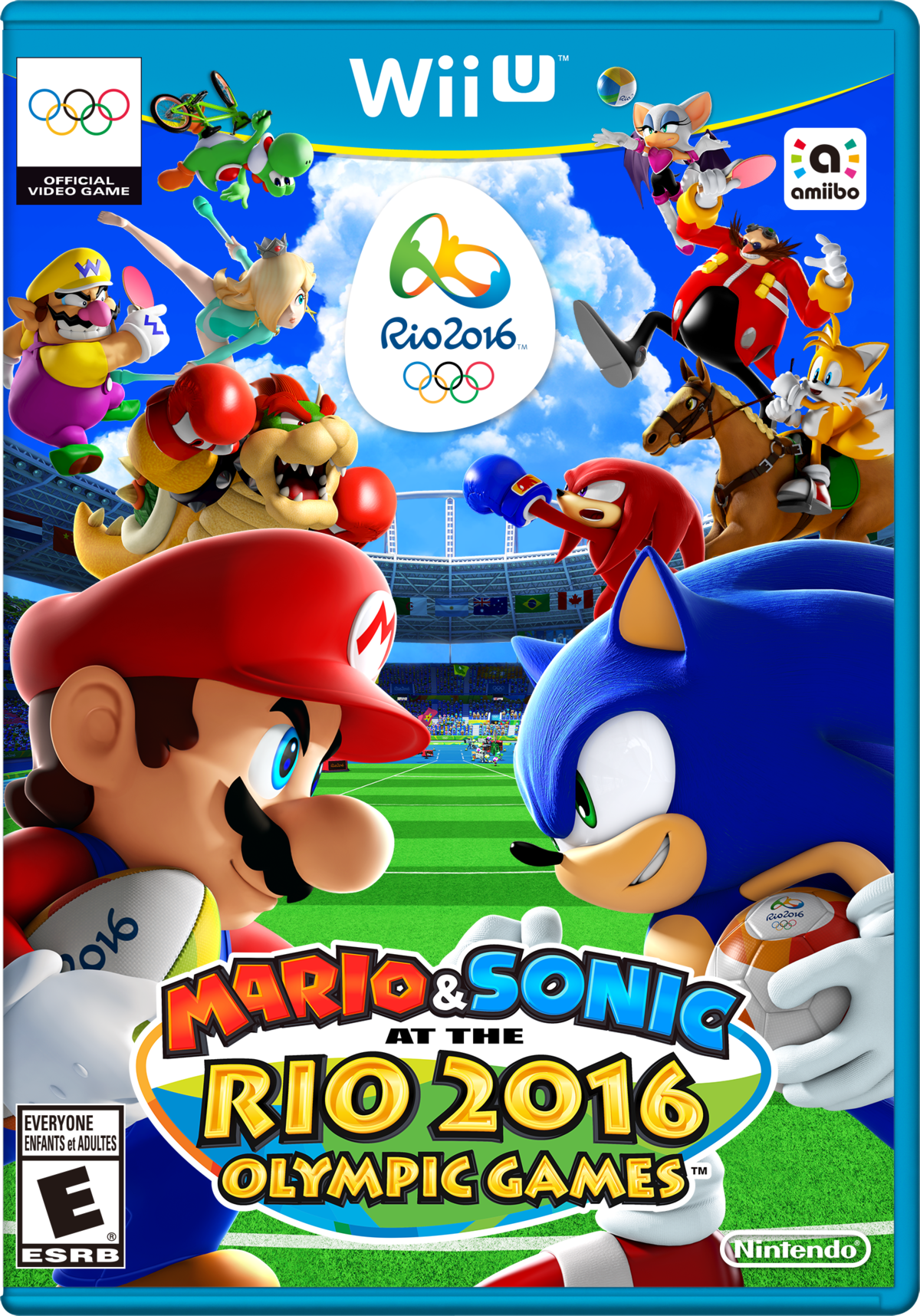 Mario & Sonic at the Rio 2016 Olympic Games (Wii U) - Super