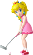 Princess Peach Artwork - Mario Golf World Tour.png