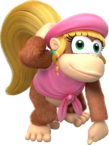 Dixie Kong - Donkey Kong Country Tropical Freeze.png
