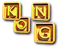 KONG Letters Artwork - Donkey Kong Country 3.png