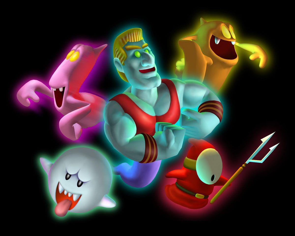 Ghost Luigi S Mansion Series Super Mario Wiki The Mario