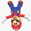Mario Somersault Artwork - Super Mario 64.png