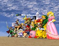 All playable characters.
