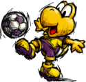 Koopa Troopa - Super Mario Strikers.png