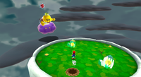 SMG2 Yoshi Star King Lakitu Battle.png