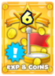 MLPJ Average EXP Coins Exclamation Card.png