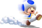 Toad Running Artwork (alt) - Super Mario 3D World.png