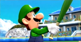 MSS Luigi holds his bat.png