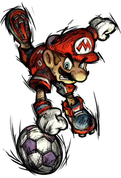 File:Mario Promo2 - Super Mario Strikers.png