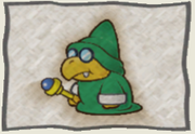 PMTTYD Tattle Log - Green Magikoopa.png