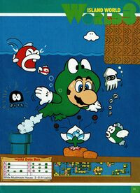 Mario swimming through Water Land with a Frog Suit.  sc 1 st  Super Mario Wiki & Frog Suit - Super Mario Wiki the Mario encyclopedia