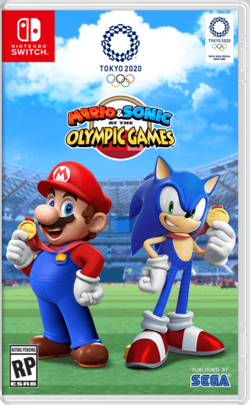 Mario Sonic At The Olympic Games Tokyo 2020 Super Mario