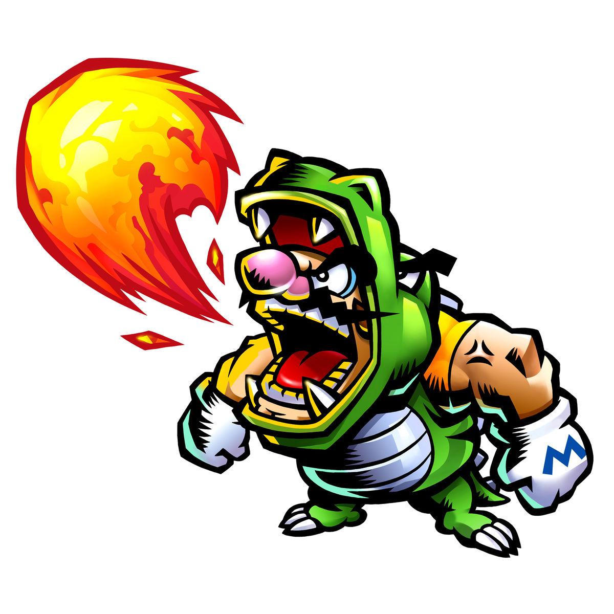 Captain Wario (Game & Wario) - Super Mario Wiki, the Mario