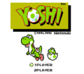 Yoshi NES North America Title Screen.png